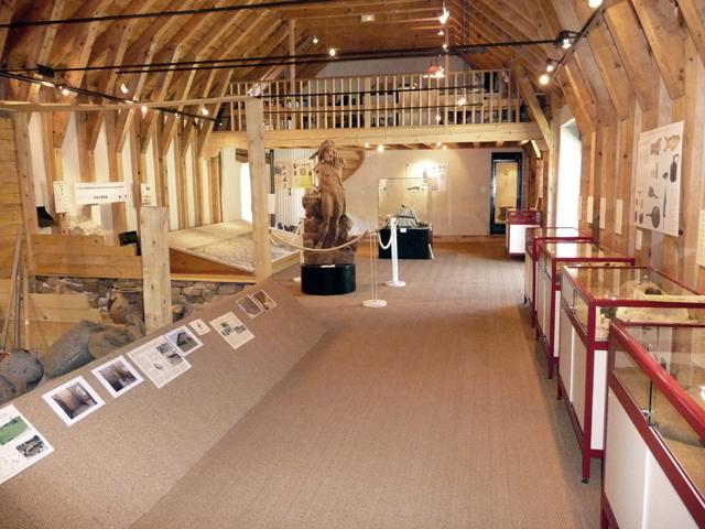 Vue du musée de Javols